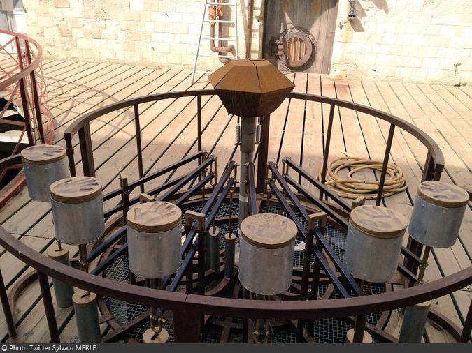 Fort Boyard 2015 : Le nouveau rond central (15/05/2015)