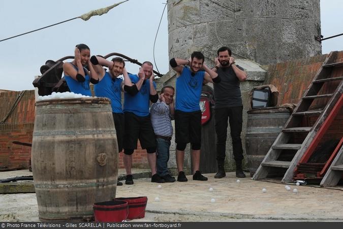 Fort Boyard 2016 - Equipe 1 (02/07/2016)