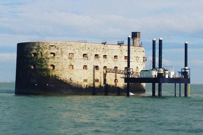 Fort Boyard 2016 : La plate-forme est en service (26/03/2016)