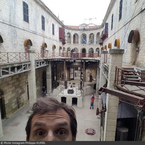 Fort Boyard 2016 - Philippe Auriel avant le tournage (01/06/2016)