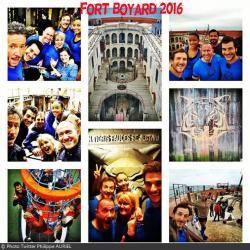 Fort Boyard 2016 - Vues du tournage de l'équipe 1 (01/06/2016)