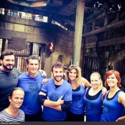 Fort Boyard 2016 - Fin de tournage pour l'équipe 3 (04/06/2016)