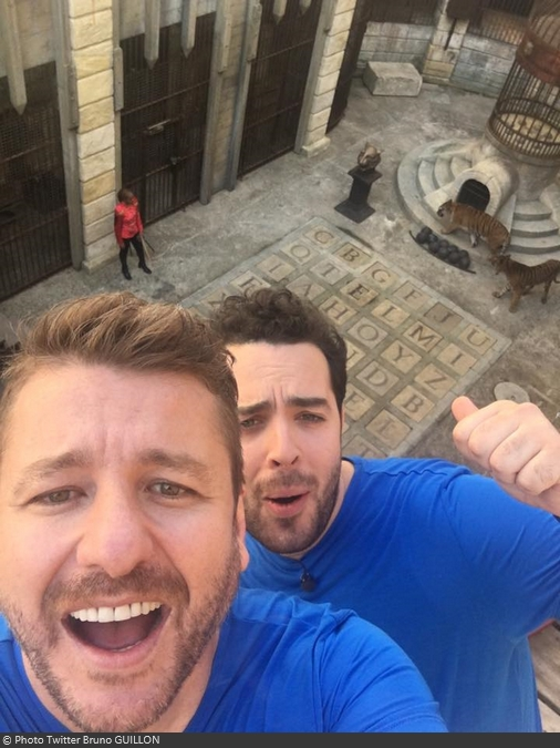 Fort Boyard 2016 - Bruno Guillon et Elliot sont prêts (06/06/2016)