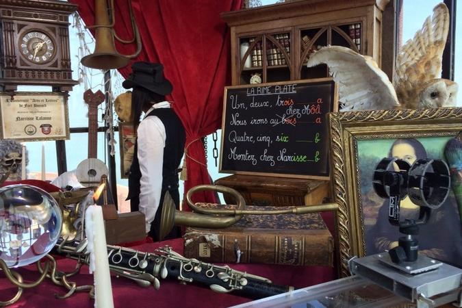 Fort Boyard 2016 - La vigie occupée par Narcisse Lalanne (Francis Lalanne) (06/06/2016)
