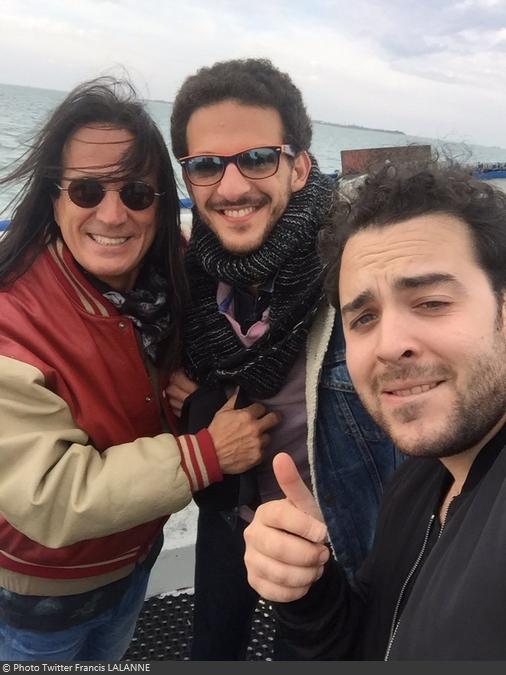 Fort Boyard 2016 - Francis Lalanne avec Elliot et Vincent Dedienne (08/06/2016)