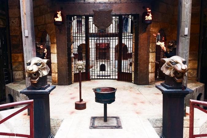 Fort Boyard 2016 - La grille de la Salle du trésor
