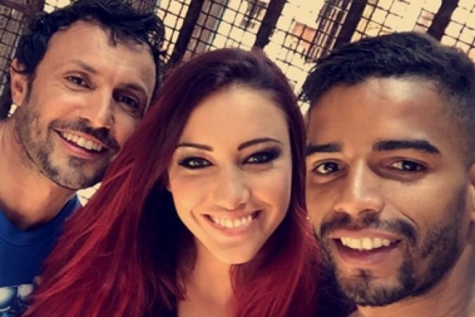 Fort Boyard 2016 - Willy, Delphine Wespiser et Brahim Zaibat
