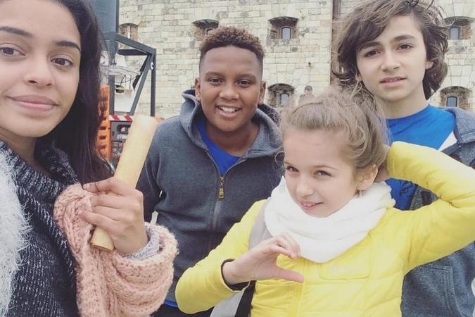 Fort Boyard 2016 - Les Kids United (02/06/2016)