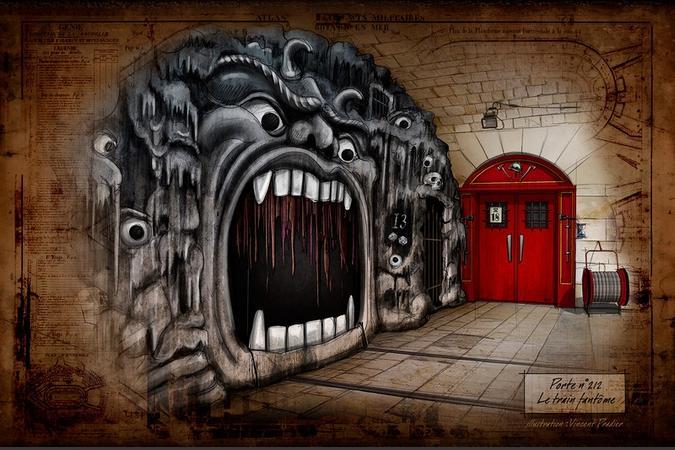 Fort Boyard 2016 - Projet de porte pour le Train fantôme