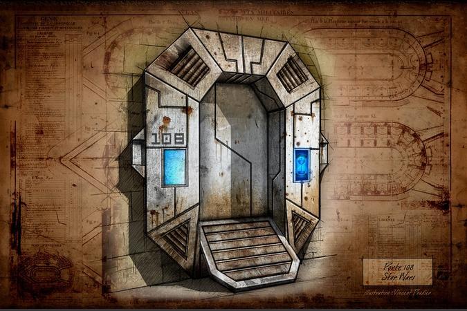 Fort Boyard 2016 - Projet de porte pour le Vaisseau spatial
