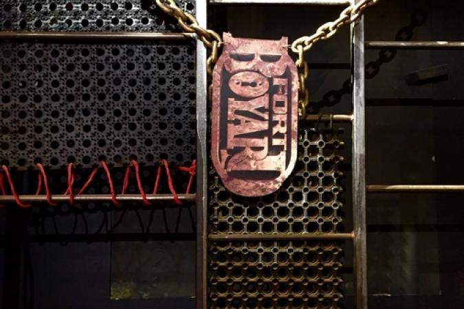 Fort Boyard 2016 - Décoration de la Cage