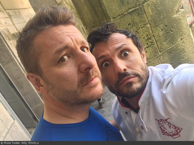 Fort Boyard 2016 - Bruno Guillon et Willy