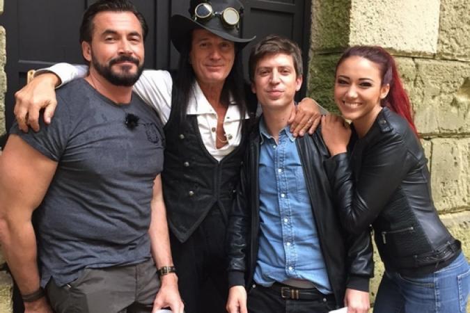 Fort Boyard 2016 - Olivier, Francis Lalanne, Guillaume Ramain et Delphine Wespiser