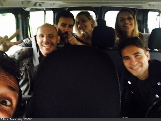 Fort Boyard 2016 - L'équipe 5 en route pour le fort (29/05/2016)