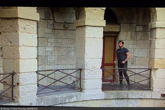 Fort Boyard 2016 - Vue des tournages depuis la régie (30/05/2016)
