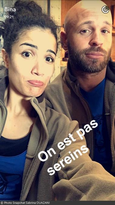 Fort Boyard 2016 - Franck Gastambide et Sabrina Ouazani (31/05/2016)