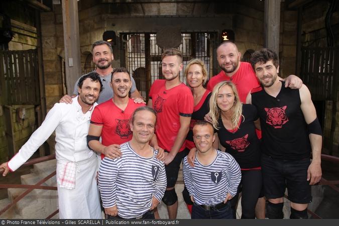 Fort Boyard 2017 - Equipe 7 (19/08/2017)