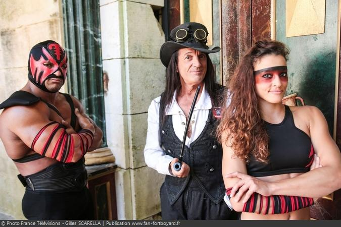 Fort Boyard 2017 - Mister Boo, Narcisse Lalanne et Lady Boo
