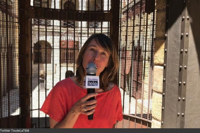 Fort Boyard 2017 - Alexia Laroche-Joubert en interview presse (24/05/2017)