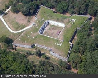 Vue aérienne du Fort Liédot