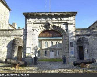 L'entrée du Musée National de la Marine