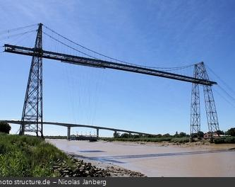 Le pont transbordeur du Martou