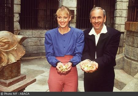 Fort Boyard - Patrice Laffont et Valérie Pascale en 1992