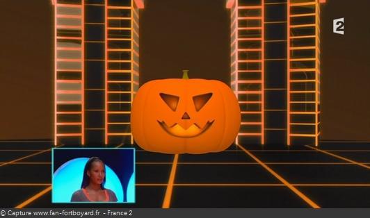 Fort Boyard - Cellule interactive (Enigmes visuelles) - Citrouille (Halloween)
