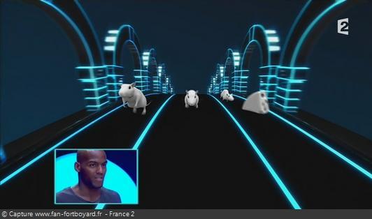 Fort Boyard - Cellule interactive (Enigmes visuelles) - Course de rats