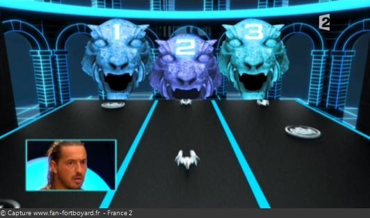 Fort Boyard - Cellule interactive (Enigmes visuelles) - Têtes de tigres
