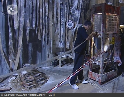 Fort Boyard - Chantier
