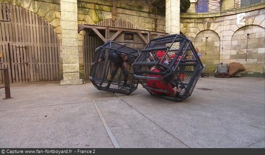 Fort Boyard - Deux cages