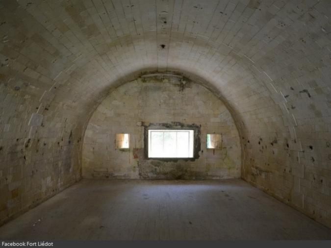 Vue d'une cellule du Fort Liédot