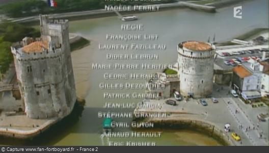 Générique de fin de Fort Boyard - Vue n°2