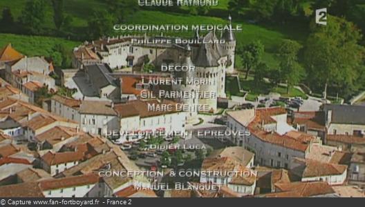 Générique de fin de Fort Boyard - Vue n°4