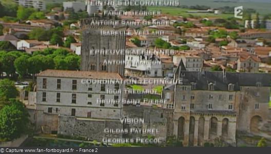 Générique de fin de Fort Boyard - Vue n°6