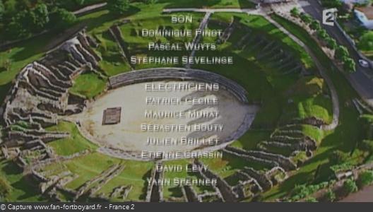 Générique de fin de Fort Boyard - Vue n°9
