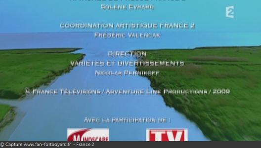 Générique de fin de Fort Boyard - Vue n°13