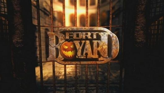 Logo Fort Boyard 2012 version Halloween (nocturne du 31 octobre 2012)