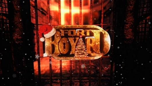 Logo Fort Boyard 2012 version Noël (nocturne du 22 décembre 2012)