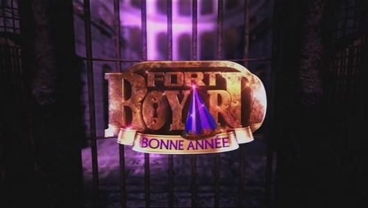 Logo Fort Boyard 2012 version Nouvel An (nocturne du 29 décembre 2012)