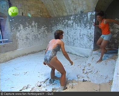 Fort Boyard - Lutte dans la boue (cellule 209 - 2001 à 2003)
