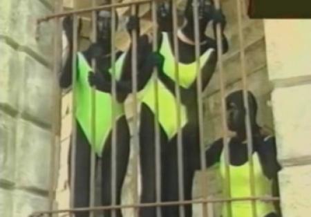 Fort Boyard - Femmes noires en 1990