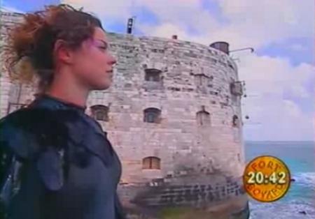 Fort Boyard - Naïade en 2002