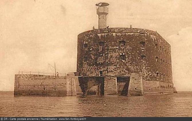 Le havre d'abordage du Fort Boyard au début du XXe siècle