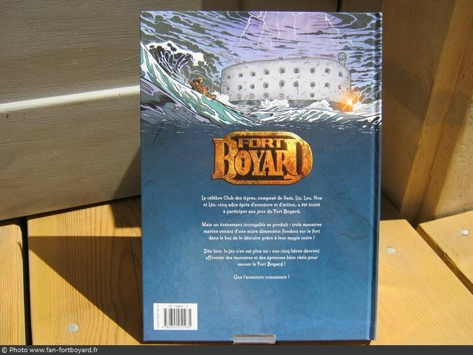 Bande-dessinée - Fort Boyard, les Monstres des océans (Vol. 1) (2016)
