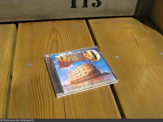 CD - Album Fort Boyard la musique de toutes les aventures (1999)