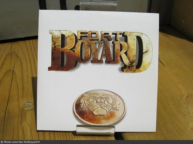 CD - Single 2 titres Fort Boyard (1999)