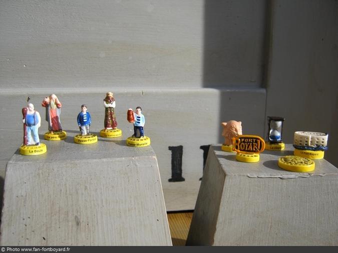 Épiphanie - Collection de 10 fèves Fort Boyard (2010)