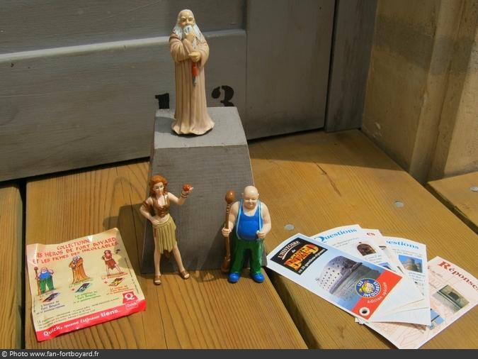 Figurines et gadgets - Collection de Quick (1997)